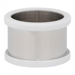Pierścionek baza 12 mm ceramika biała