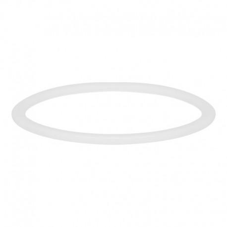 Ring ceramiczny 1 mm biały
