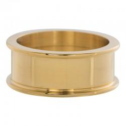 Pierścionek baza 8 mm złoty