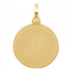 Zawieszka duża złota Holandia 19 mm