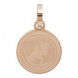 Zawieszka duża różowe złoto Holandia 25 mm