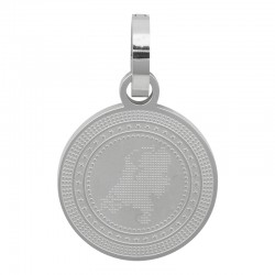 Zawieszka duża srebrna Holandia 25 mm