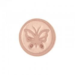 Element wymienny motyl różowe złoto