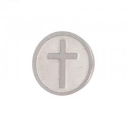 Element wymienny krzyż srebrny