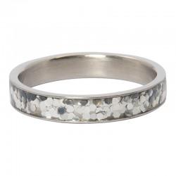 Ring confetti 4 mm srebrny
