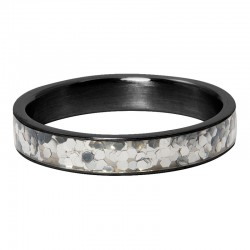 Ring confetti 4 mm czarny