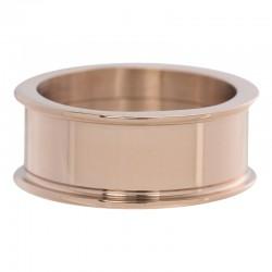 Pierścionek baza 8 mm różowe złoto