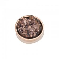 Element wymienny kryształki miedziane różowe złoto