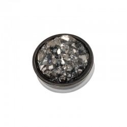 Element wymienny kryształki ciemno szare czarny