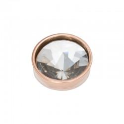 Element wymienny piramida kryształ różowe złoto