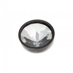 Element wymienny piramida kryształ czarny