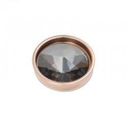 Element wymienny piramida czarny diament różowe złoto