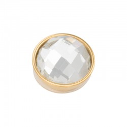 Element wymienny fasetowany krystaliczny złoty