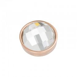 Element wymienny fasetowany krystaliczny różowe złoto