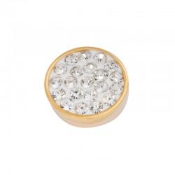 Element wymienny cyrkonie kryształowe złoty