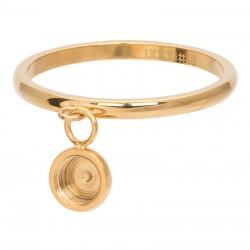 Ring baza do elementów wymiennych wiszących 2 mm złoty