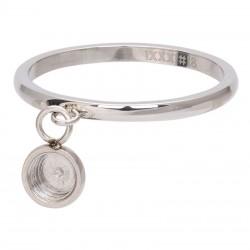 Ring baza do elementów wymiennych wiszących 2 mm srebrny