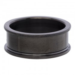 Pierścionek baza 8 mm czarny