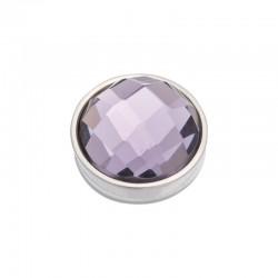 Element wymienny fasetowany fioletowy srebrny