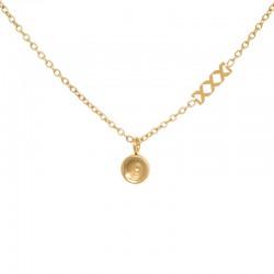 Naszyjnik baza 50 cm złoty