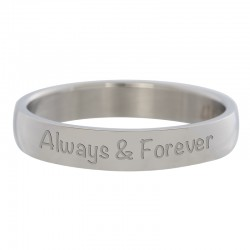 Ring Always&Forever srebrny