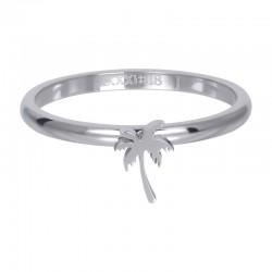 Ring symbol palma 2 mm srebrny