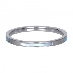 Ring bonaire 2 mm srebrny
