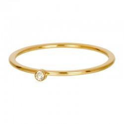 Cyrkonia 1 mm kryształ piaskowy złoty