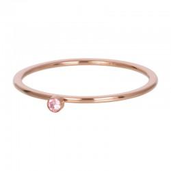 Cyrkonia 1 mm kryształ różowy różowe złoto