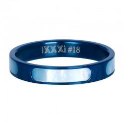 Ring aruba 4 mm niebieski