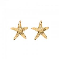 Kolczyki rozgwiazdy złote