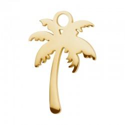 Zawieszka mała palma złota