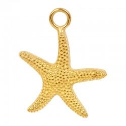 Zawieszka mała rozgwiazda złota