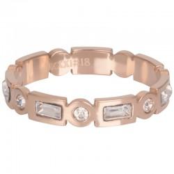 Ring Excellent 4 mm różowe złoto