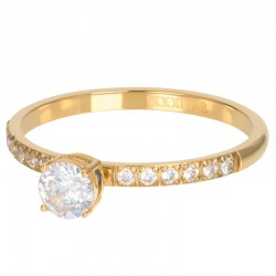 Ring Queen 2 mm złoty