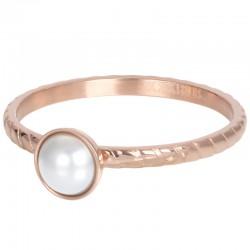 Ring Dynasty 2 mm różowe złoto
