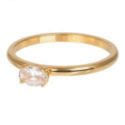 Ring King 2 mm złoty