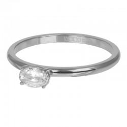 Ring King 2 mm srebrny