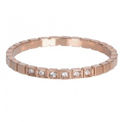 Ring Palace 2 mm różowe złoto