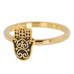 Ring Enjoy 4 mm złoty
