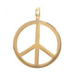 Zawieszka średnia peace złota