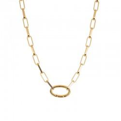 Łańcuch 50 cm złoty