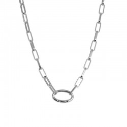 Łańcuch 50 cm srebrny