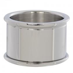 Pierścionek baza 12 mm srebrny