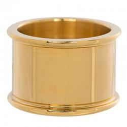 Pierścionek baza 12 mm złoty
