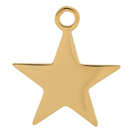 Zawieszka mała gwiazda złota