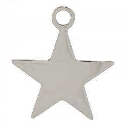 Zawieszka mała gwiazda srebrna