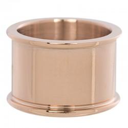 Pierścionek baza 12 mm różowe złoto