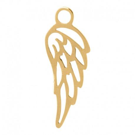 Zawieszka mała skrzydełko złote