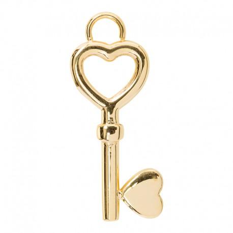 Zawieszka mała kluczyk złoty